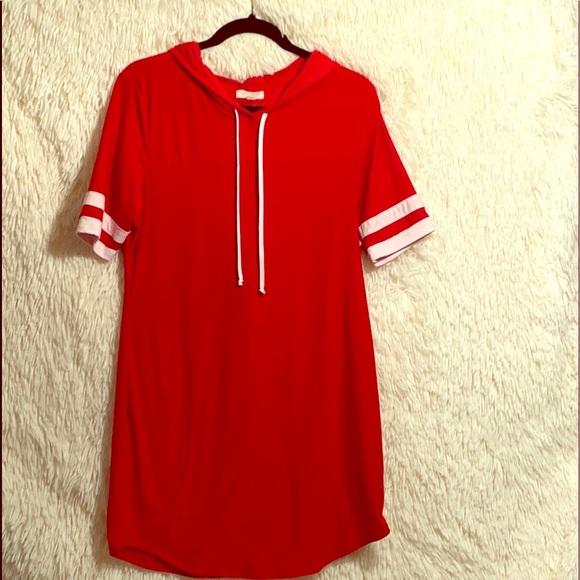 Ultra Flirt Dresses & Skirts - Juniors XL Hoodie Dress